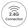 2.4g connection